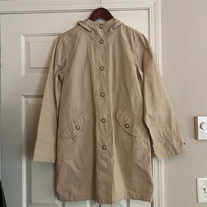 Tommy Hilfiger Tan trench coat